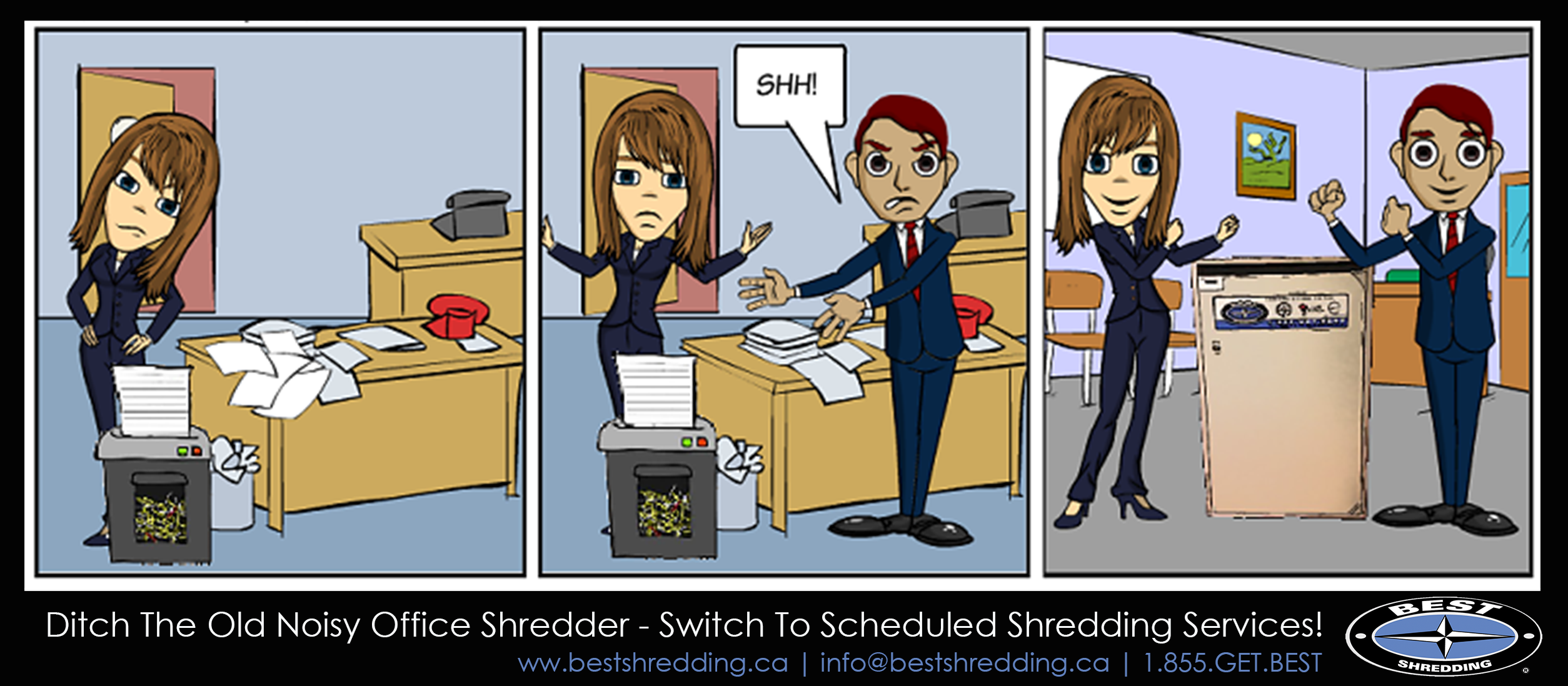 Best Shredding Scheduled Comic